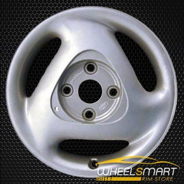 "15"" Mercury Capri OEM wheel 1991-1994 Silver alloy stock rim ALY03027U10"