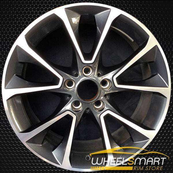 "19"" BMW X5 OEM wheel 2014-2018 Machined alloy stock rim ALY86044U30"