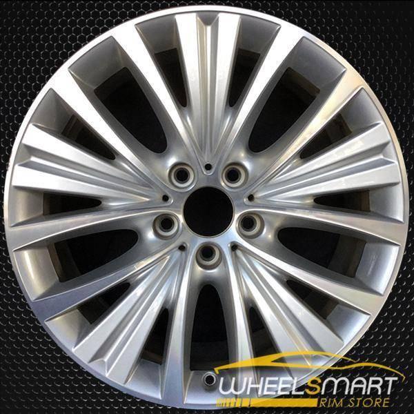 """19"""" BMW X5 OEM wheel 2014-2017 Machined alloy stock rim ALY86047U10"""
