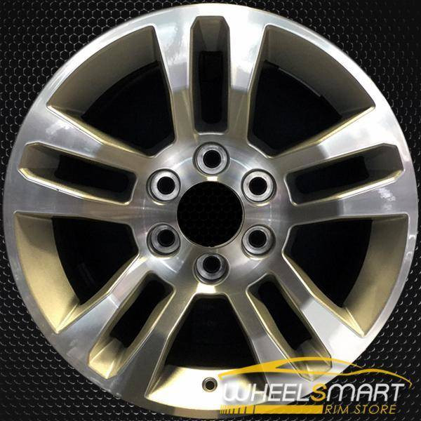 "18"" Chevy Silverado OEM wheel 2014-2018 Machined alloy stock rim ALY05646U10"