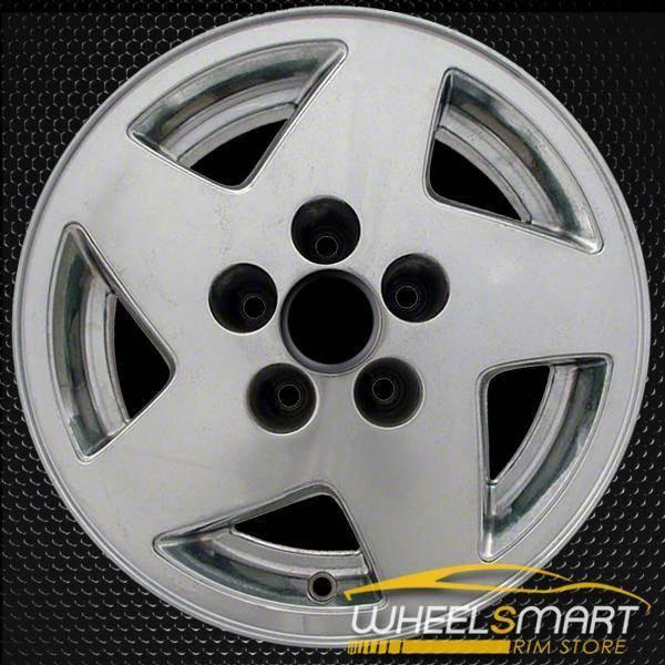"15"" Jeep Cherokee OEM wheel 1993-1995 Chrome alloy stock rim ALY09010U85"