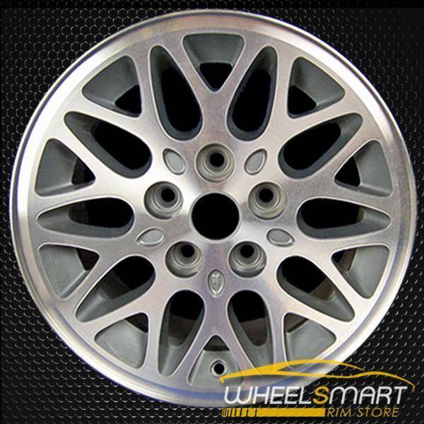 "15"" Jeep Cherokee OEM wheel 1993-1999 Machined alloy stock rim ALY09011U35"