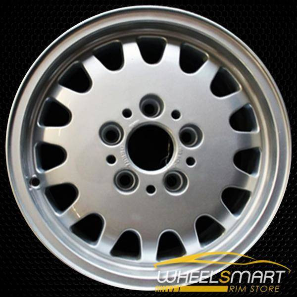 "15"" BMW 3 Series OEM wheel 1992-1999 Silver alloy stock rim ALY59182U20"