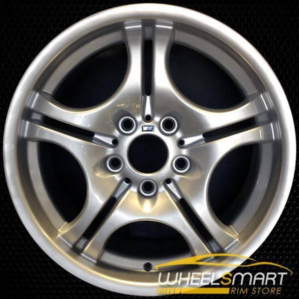 "17"" BMW 3 Series OEM wheel 2001-2006 Silver alloy stock rim ALY59345U10"