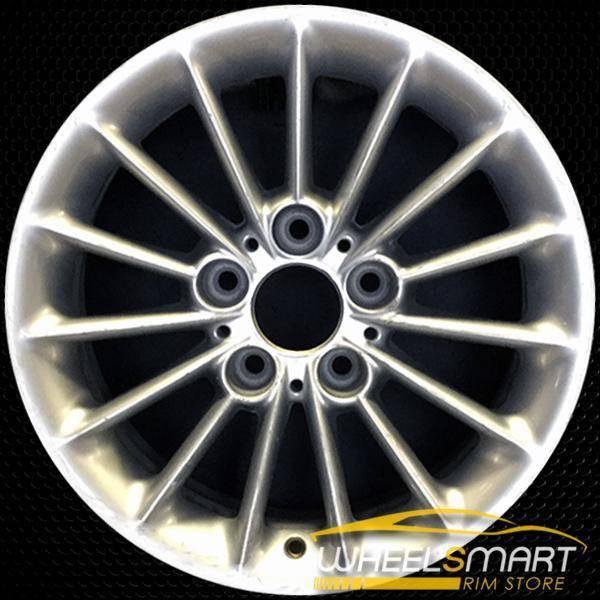 "16"" BMW 5 Series OEM wheel 2001-2003 Silver alloy stock rim ALY59349U10"