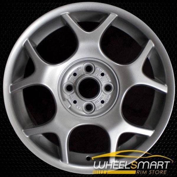 """16"""" Mini Cooper Mini OEM wheel 2002-2009 Silver alloy stock rim 59363 ALY59363U20"""