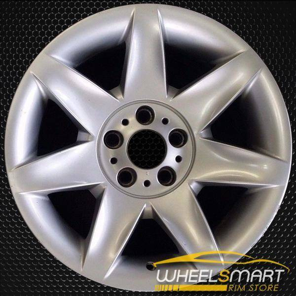 "17"" BMW 5 Series OEM wheel 2001-2003 Silver alloy stock rim ALY59409U20"