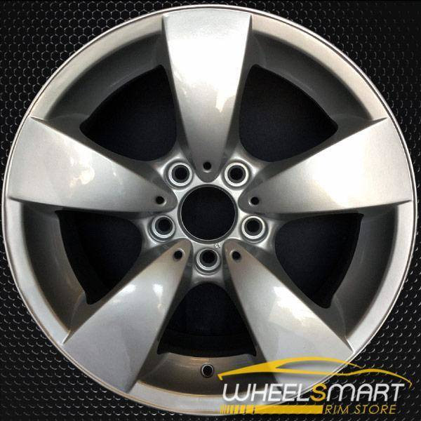 "17"" BMW 5 Series OEM wheel 2004-2010 Silver alloy stock rim ALY59471U20"