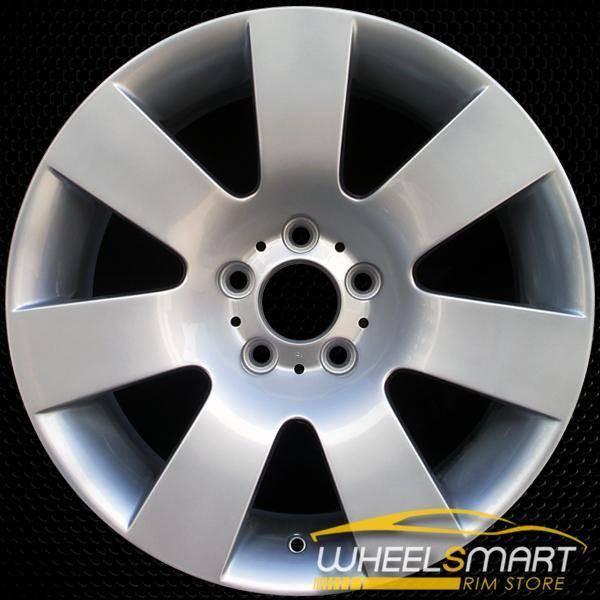 "18"" BMW 5 Series OEM wheel 2004-2010 Silver alloy stock rim ALY59476U20"