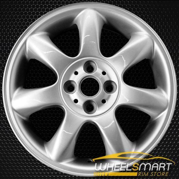 """16"""" Mini Cooper Mini OEM wheel 2005-2014 Silver alloy stock rim 59570 ALY59570U20"""