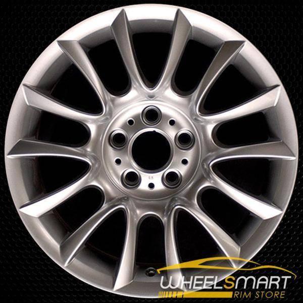 "18"" BMW 3 Series OEM wheel 2006-2013 Hypersilver alloy stock rim ALY59576U77"