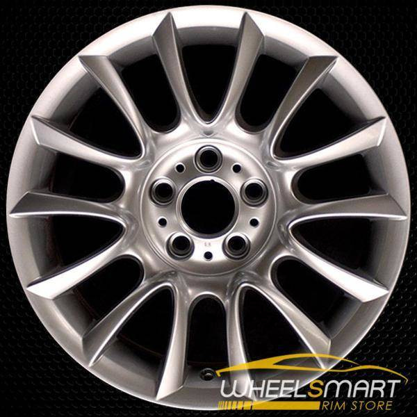 "18"" BMW 3 Series OEM wheel 2006-2013 Silver alloy stock rim ALY59577U77"