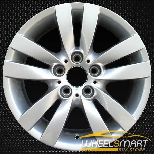 "17"" BMW 3 Series OEM wheel 2006-2013 Silver alloy stock rim ALY59584U20"