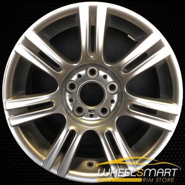 "17"" BMW 3 Series OEM wheel 2006-2013 Hypersilver alloy stock rim ALY59593U77"