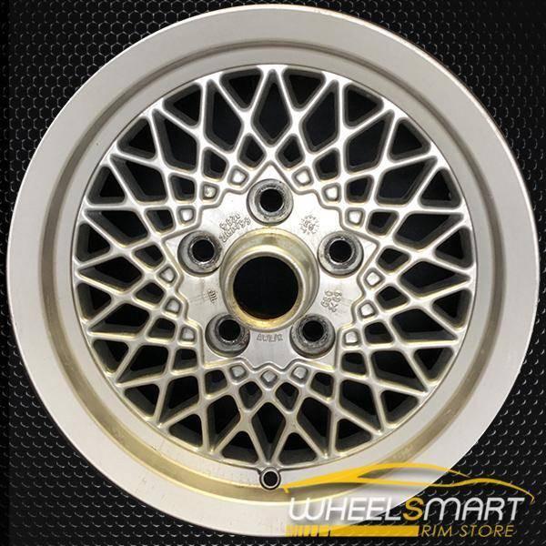 "15"" Jaguar XJ OEM wheel 1988-1993 Silver alloy stock rim 59673 ALY59673U10"