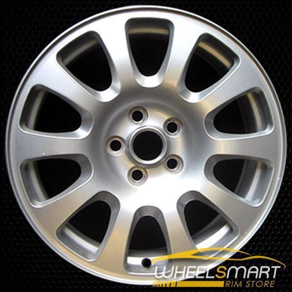 "17"" Jaguar XJ8 OEM wheel 2004-2007 Silver alloy stock rim ALY59745U20"
