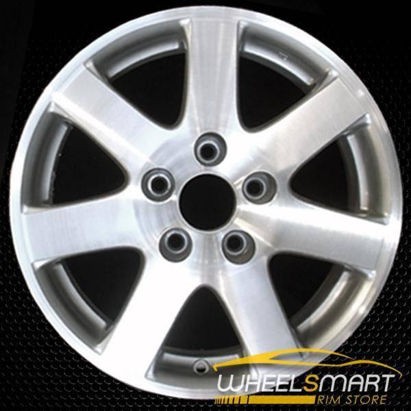 "15"" Honda Civic OEM wheel 2004-2005 Machined alloy stock rim ALY63869U20"