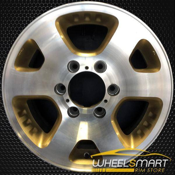 """16"""" Isuzu Amigo OEM wheel 1999-2000 Machined alloy stock rim ALY64226U10"""