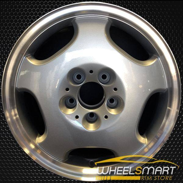 "16"" Mercedes E300D OEM wheel 1996-1999 Silver alloy stock rim ALY65166U10"