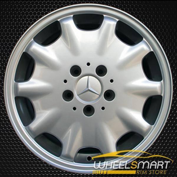 "16"" Mercedes E320 OEM wheel 1995-1999 Silver alloy stock rim ALY65168U10"