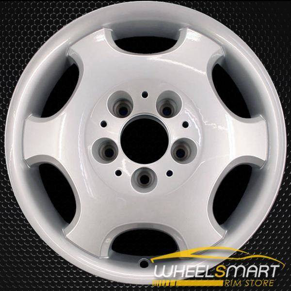 "15"" Mercedes E420 OEM wheel 1995 Silver alloy stock rim ALY65171U10"