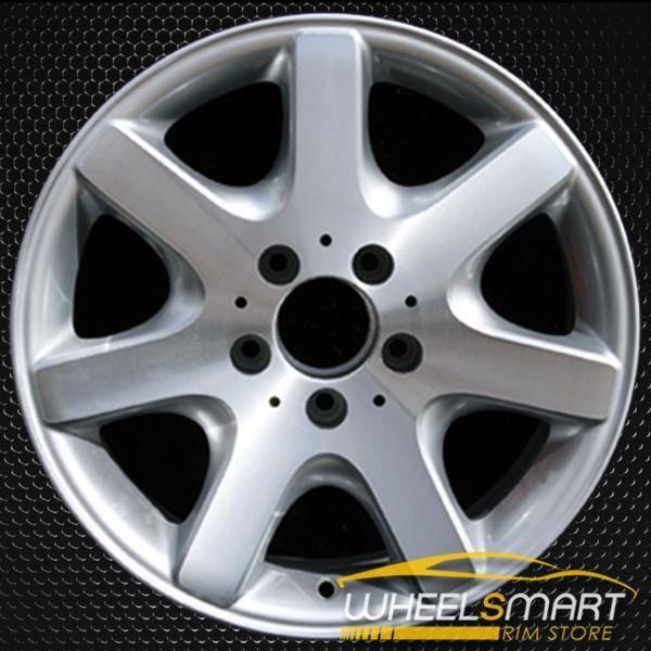 """17"""" Mercedes ML430 OEM wheel 1998-2001 Silver alloy stock rim ALY65182U10"""
