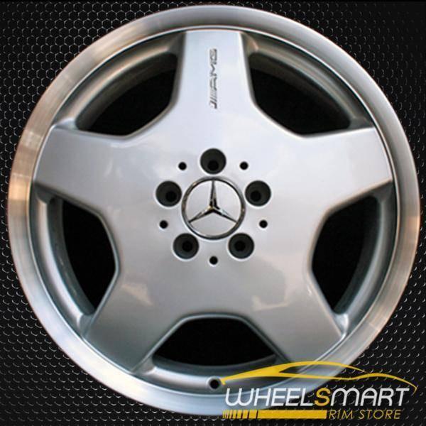 "18"" Mercedes CL500 OEM wheel 2001-2004 Silver alloy stock rim ALY65207U10"