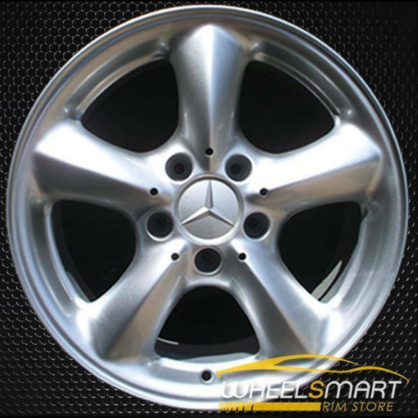 "16"" Mercedes SLK320 OEM wheel 2001-2004 Silver alloy stock rim ALY65219U10"