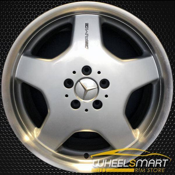 "18"" Mercedes CL500 OEM wheel 2002-2004 Silver alloy stock rim ALY65233U10"