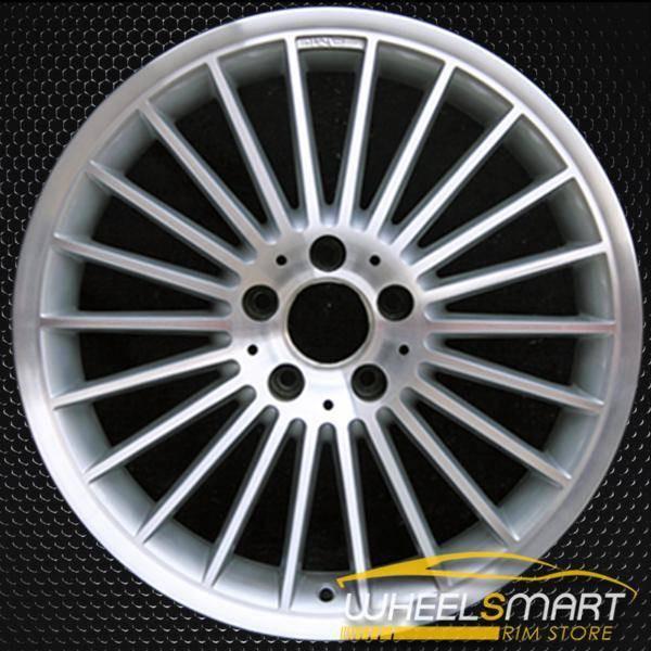 "18"" Mercedes SL55 OEM wheel 2003-2006 Machined alloy stock rim ALY65283U20"