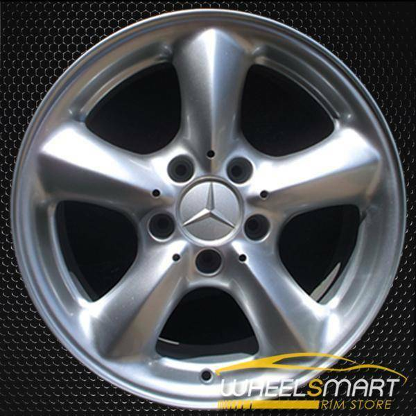 "17"" Mercedes CLK320 OEM wheel 2003-2005 Hypersilver alloy stock rim ALY65289U78"
