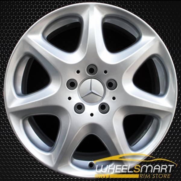 "17"" Mercedes S430 OEM wheel 2003-2006 Silver alloy stock rim ALY65307U20"