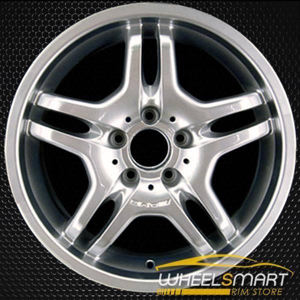 "18"" Mercedes S55 OEM wheel 2003-2006 Hypersilver alloy stock rim ALY65312U78"