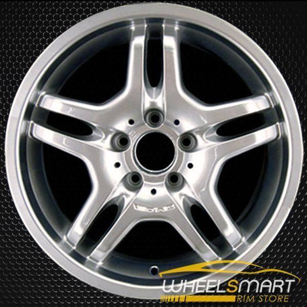 "18"" Mercedes S55 OEM wheel 2003-2006 Hypersilver alloy stock rim ALY65313U78"