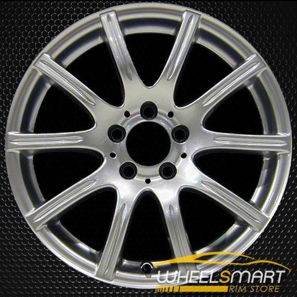 "17"" Mercedes SLK350 OEM wheel 2005-2008 Hypersilver alloy stock rim ALY65362U78"