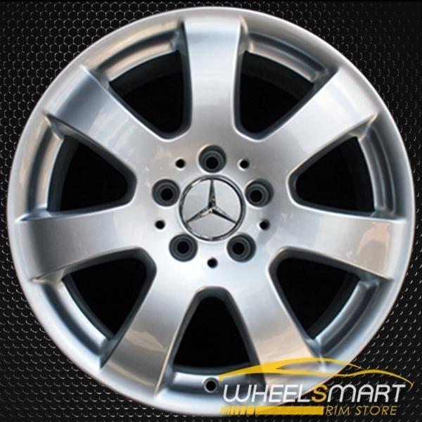"""17"""" Mercedes ML350 OEM wheel 2006-2007 Silver alloy stock rim ALY65366U20"""