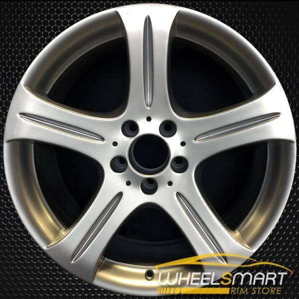 "18"" Mercedes CLS500 OEM wheel 2006-2007 Silver alloy stock rim 65372 ALY65372U20"