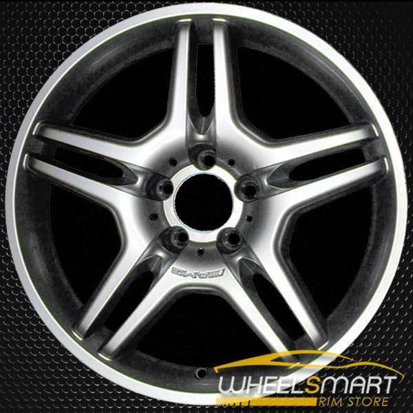 "18"" Mercedes CLS550 OEM wheel 2006-2007 Hypersilver alloy stock rim ALY65373U78"
