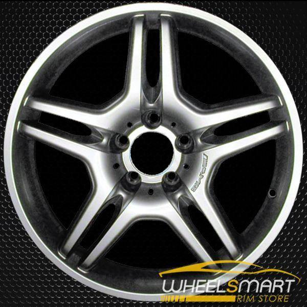 "18"" Mercedes CLS550 OEM wheel 2006-2007 Hypersilver alloy stock rim ALY65374U78"