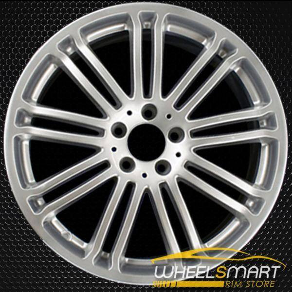 "19"" Mercedes S550 OEM wheel 2007 Hypersilver alloy stock rim ALY65479U78"