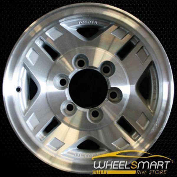 "15"" Toyota 4Runner OEM wheel 1986-1996 Silver alloy stock rim ALY69305U10"