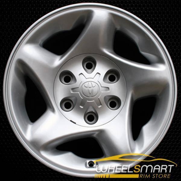 "16"" Toyota Tundra OEM wheel 2000-2004 Silver alloy stock rim ALY69395U10"