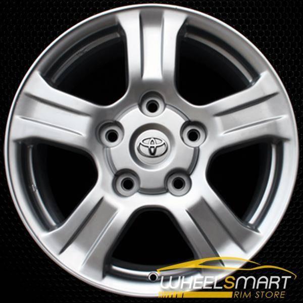 "18"" Toyota Sequoia OEM wheel 2007-2017 Silver alloy stock rim ALY69517U20"