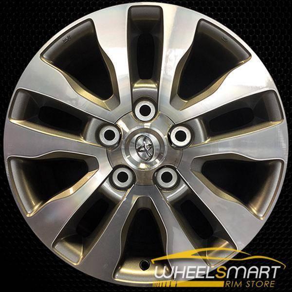 "20"" Toyota Sequoia OEM wheel 2007-2018 Machined alloy stock rim ALY69533U10"