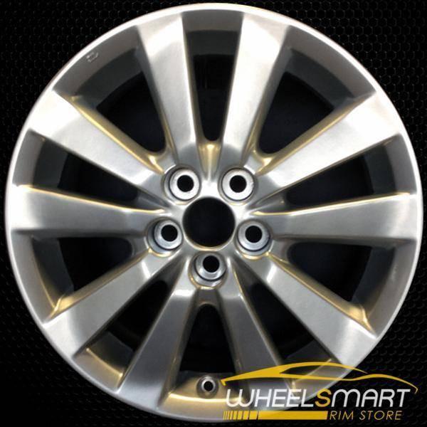 "16"" Toyota Corolla OEM wheel 2009-2010 Silver alloy stock rim 69544 ALY69544U20"