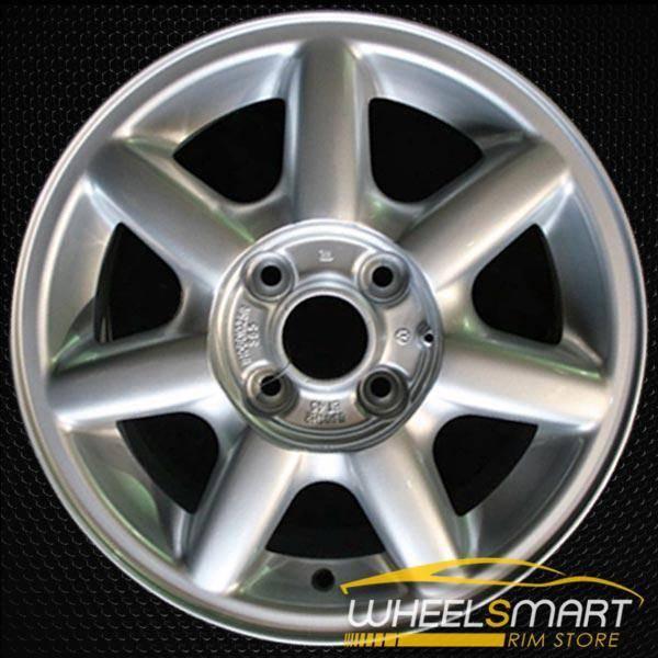 "14"" Volkswagen VW Golf OEM wheel 1994-1999 Silver alloy stock rim ALY69707U10"