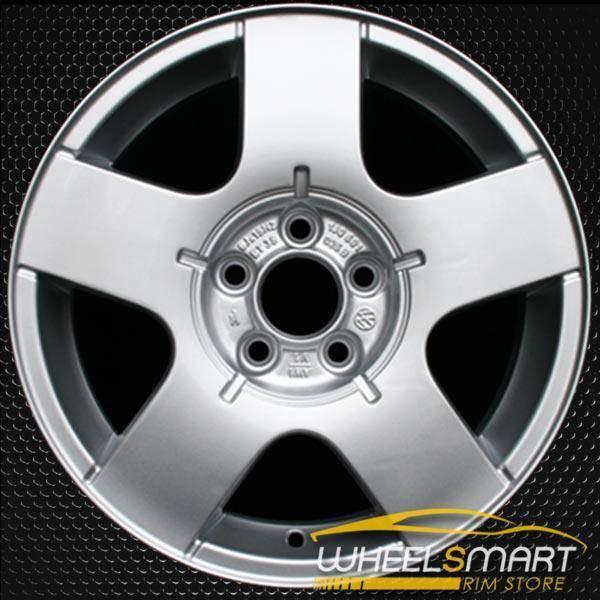 "15"" Volkswagen VW Jetta OEM wheel 1999-2011 Silver alloy stock rim ALY69735U10"