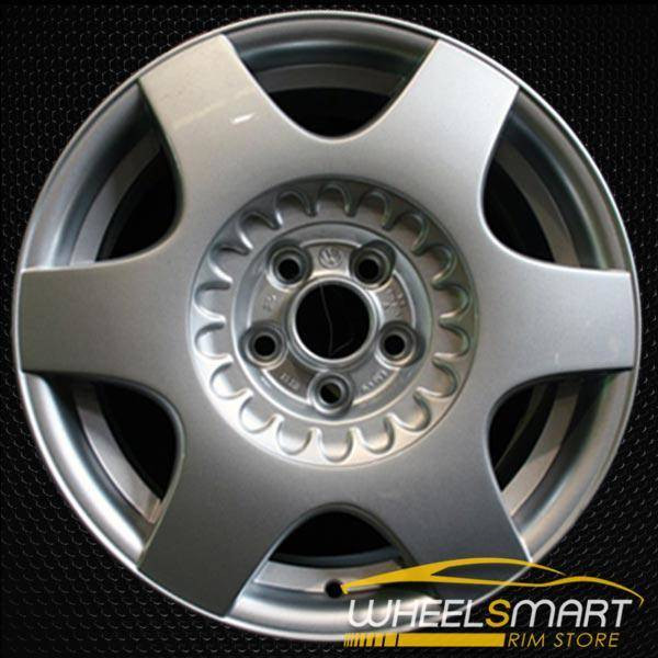 "16"" Volkswagen VW Golf OEM wheel 1999-2007 Silver alloy stock rim 69774 ALY69774U20"