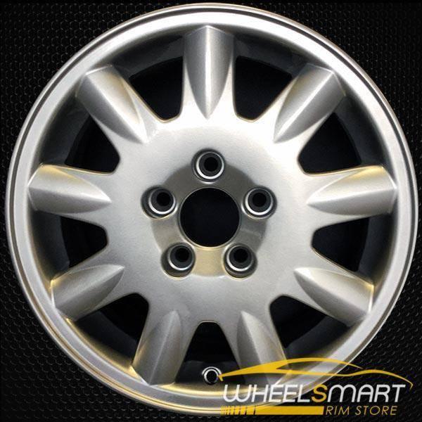 """15"""" Volvo S60 OEM wheel 2001-2009 Silver alloy stock rim ALY70241U10"""