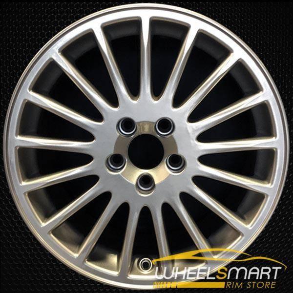"17"" Volvo S60 OEM wheel 2001-2009 Hypersilver alloy stock rim ALY70247U78"
